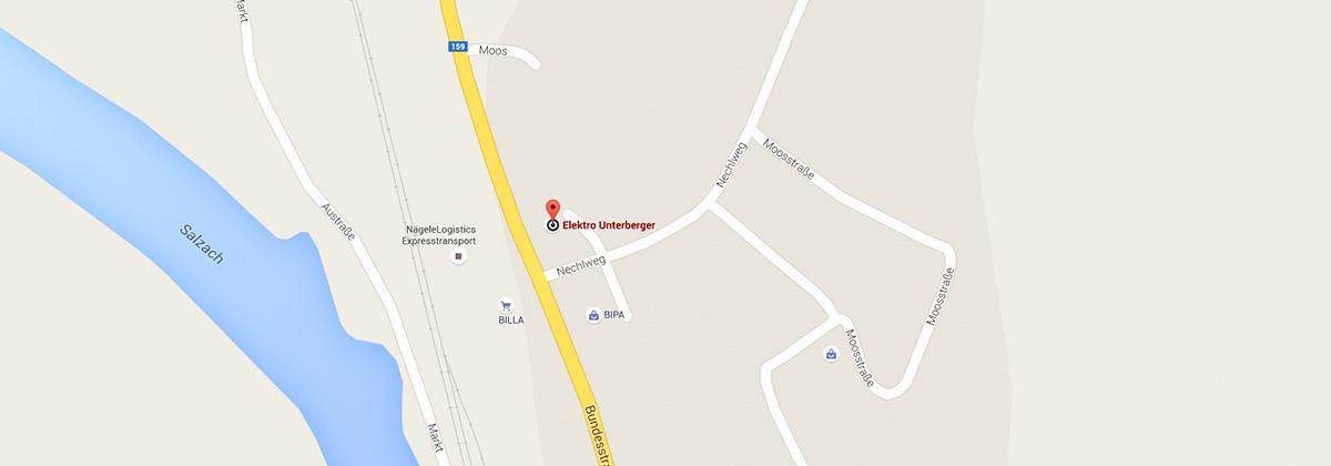 So finden Sie uns in Moos 8, 5431 Kuchl.